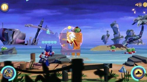 Скриншот для Angry Birds Transformers - 2