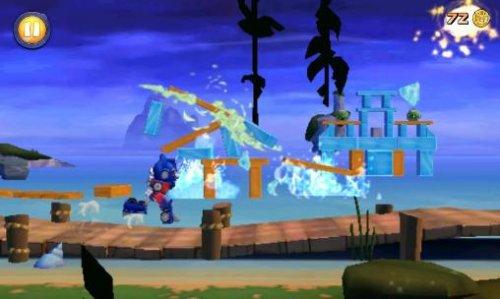 Скриншот для Angry Birds Transformers - 1