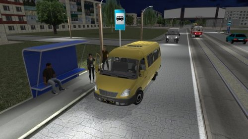 Скриншот для Симулятор маршрутки 2017 - 2