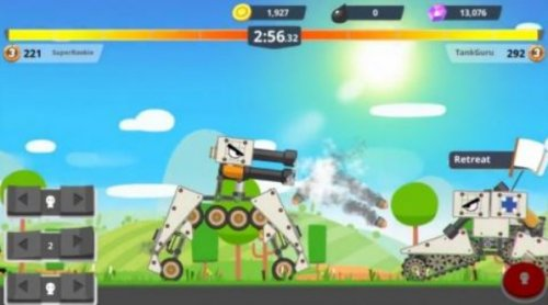 Скриншот для Супер Танк - 1