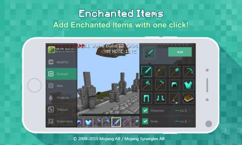 Скриншот для MCPE Master - 1