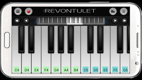 Скриншот для Perfect Piano - 2