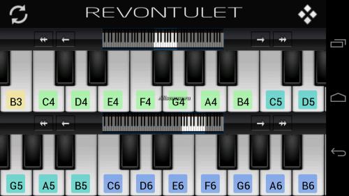 Скриншот для Perfect Piano - 3