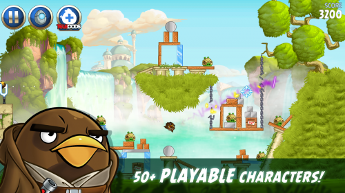 Скриншот для Angry Birds Star - 2