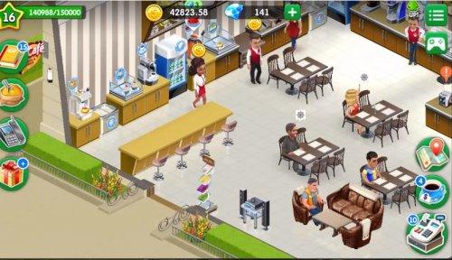 Скриншот для Моя Кофейня - 2
