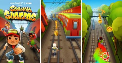 Скриншот для Subway Surf - 1
