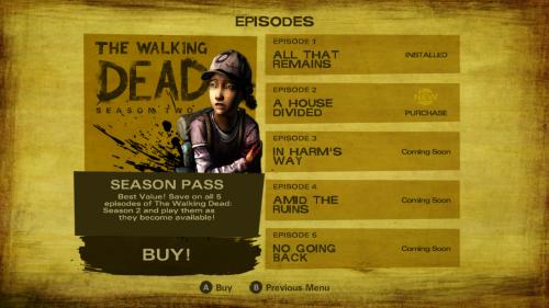 Скриншот для The Walking Dead: Season 2 - 3