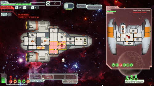 Скриншот для Faster Than Light - 3