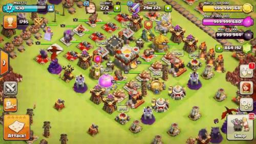 Скриншот для Clash of Magic - 3