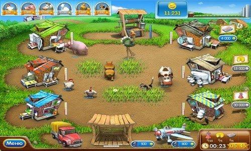 Скриншот для Веселая ферма 2 - 1