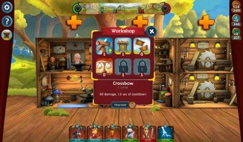 Скриншот для Heroes of Scene - 1