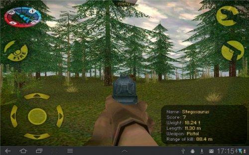 Скриншот для Охота на динозавров - 1