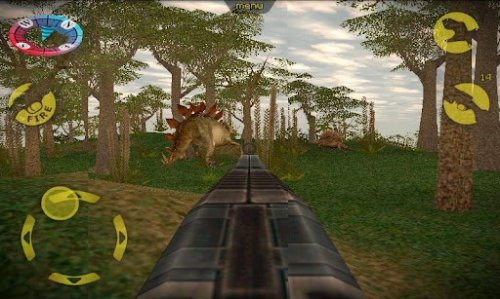Скриншот для Охота на динозавров - 2