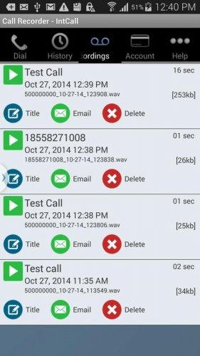 Скриншот для IntCall - 2