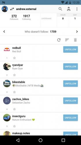 Скриншот для Followers Assistant - 3