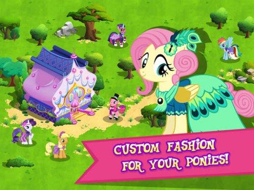 Скриншот для MY LITTLE PONY: Magic Princess - 2