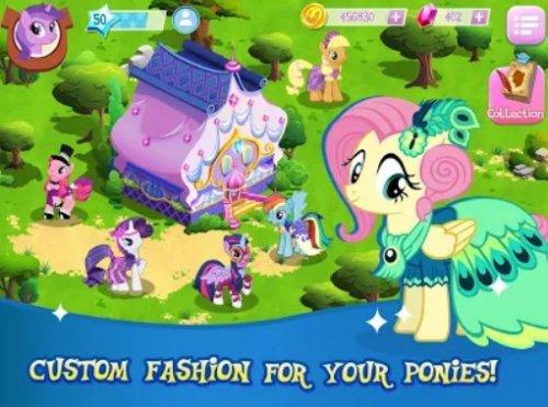 Скриншот для MY LITTLE PONY: Magic Princess - 3