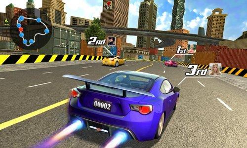 Скриншот для Уличные гонки 3D - 2