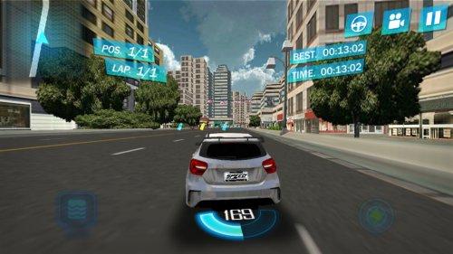 Скриншот для Уличные гонки 3D - 3