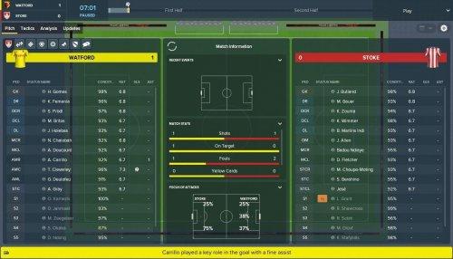 Скриншот для Football Manager 2019 - 2