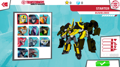 Скриншот для Transformers: Robots In Disguise - 1
