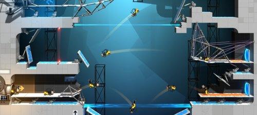 Скриншот для Bridge Constructor Portal - 3