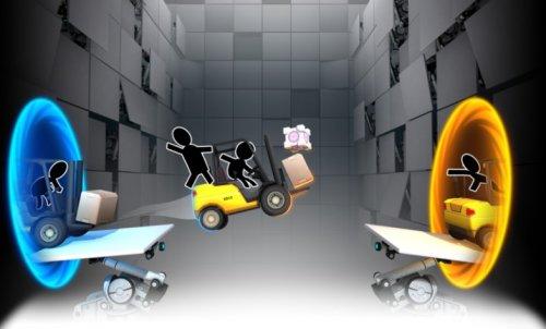 Скриншот для Bridge Constructor Portal - 1