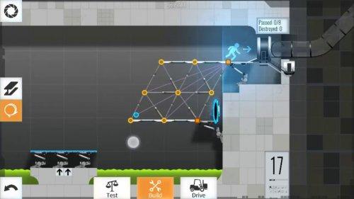 Скриншот для Bridge Constructor Portal - 2