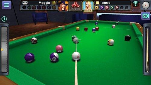 Скриншот для 3D Pool Ball - 2