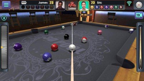 Скриншот для 3D Pool Ball - 3