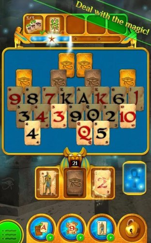 Скриншот для Pyramid Solitaire Saga - 1