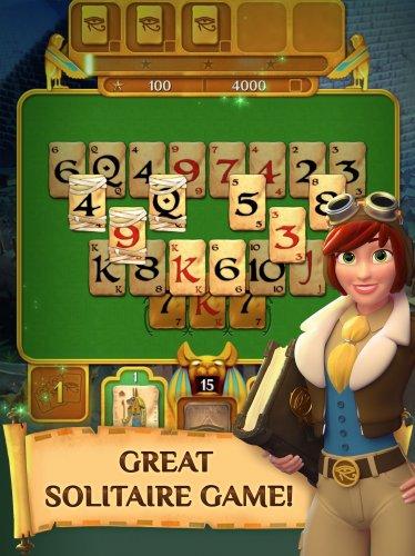 Скриншот для Pyramid Solitaire Saga - 3