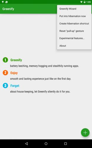 Скриншот для Greenify - 1