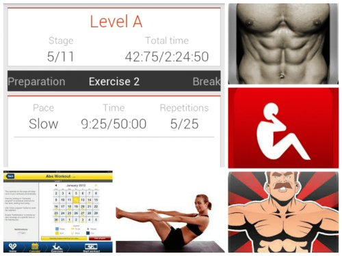Скриншот для Abs workout - 2