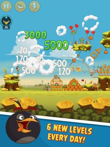 Скриншот для Angry Birds Classic - 1