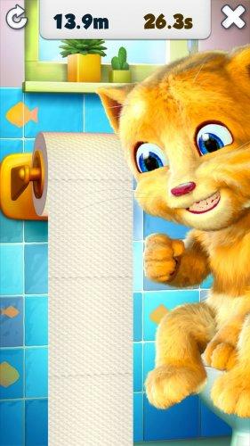 Скриншот для Talking Ginger - 1