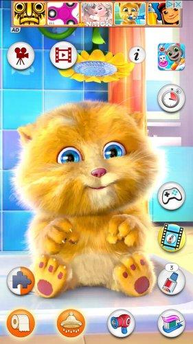 Скриншот для Talking Ginger - 2