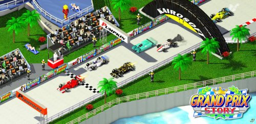 Скриншот для Grand Prix Story - 3