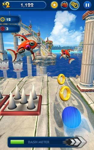 Скриншот для Sonic Dash - 1