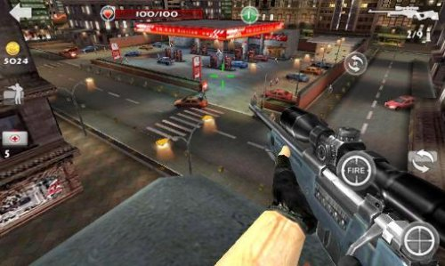 Скриншот для Sniper 3D - 1