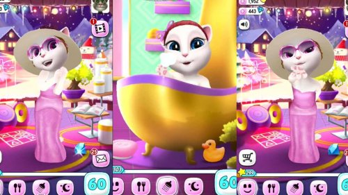 Скриншот для My Talking Angela - 2