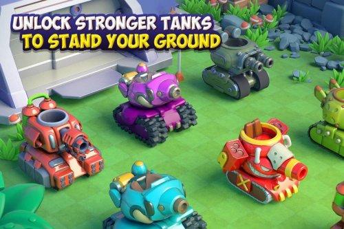 Скриншот для Dank Tanks - 3