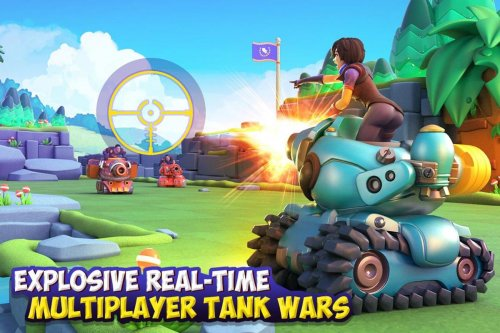 Скриншот для Dank Tanks - 1