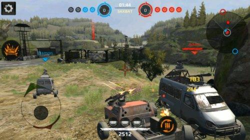 Скриншот для Crossout Mobile - 2