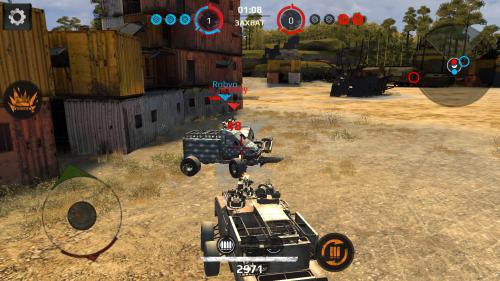Скриншот для Crossout Mobile - 1