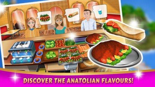Скриншот для Kebab World - Cooking Game Chef - 1