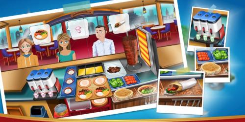 Скриншот для Kebab World - Cooking Game Chef - 3