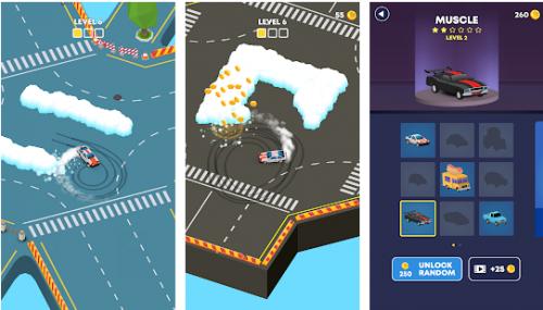Скриншот для Snow Drift - 1