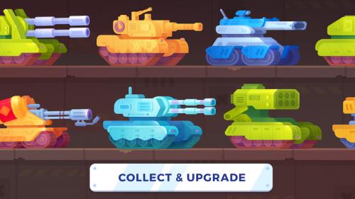 Скриншот для Tank Stars - 3