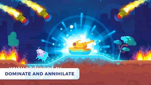 Скриншот для Tank Stars - 2